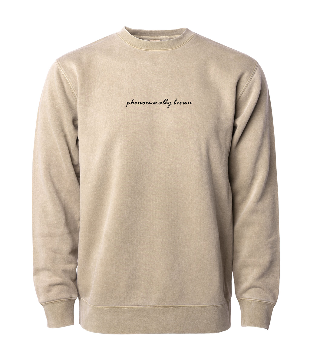 PHENOMENALLY SOFT SWEATSHIRT (BROWN)