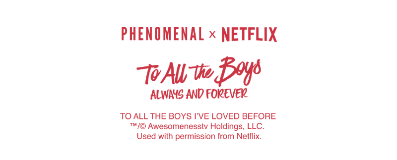 PHENOMENAL x TO ALL THE BOYS I'VE LOVED BEFORE (SET OF  8) LETTERPRESS CARDS