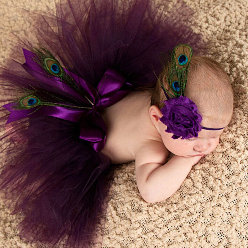 Princess Peacock -Newborn Tutu