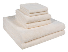 Washcloth, Hand Towel, & Bath Towel - Set of 6