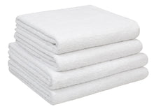 Kid Sized Bath Towel & Bath Towel - Set of 4