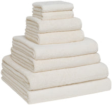Turkish Cotton Bath Towel Set - Pack of 8 with 2 Bath Sheets (30x60)