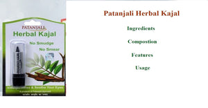 Patanjali Herbal Kajal - Ingredients, Features, Composition, Usage