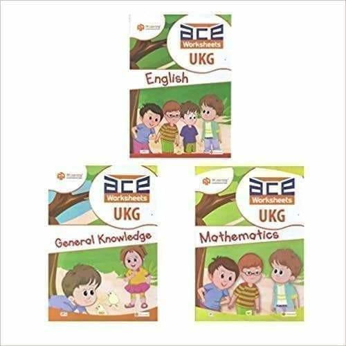 UKG Kids ACE All-in-One Early learning Worksheets 272 pages (KG 2)