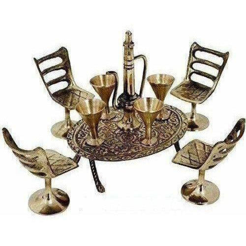 Unique Design Dining Table Chair Maharaja Set