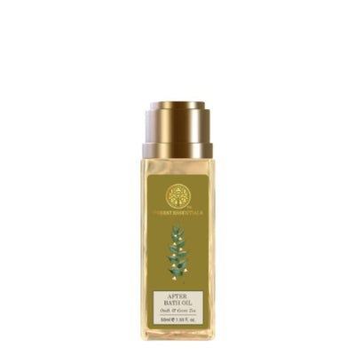 Forest Essentials After Bath Oil Oudh & Green Tea - Distacart