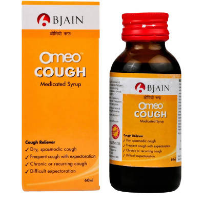 Bjain Homeopathy Omeo Cough syrup 60ml