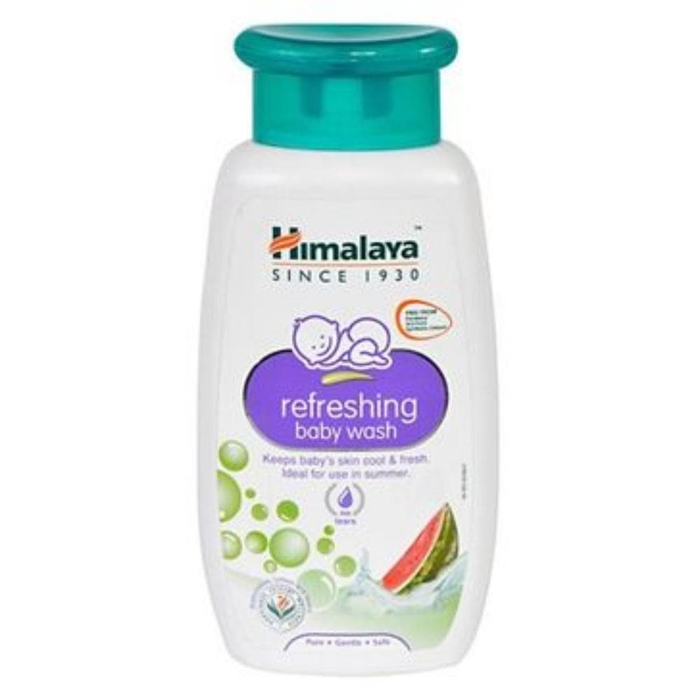 Himalaya Herbals - Refreshing Baby Wash - Distacart