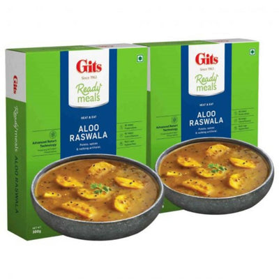 Gits Ready Meals Heat & Eat Aloo Raswala