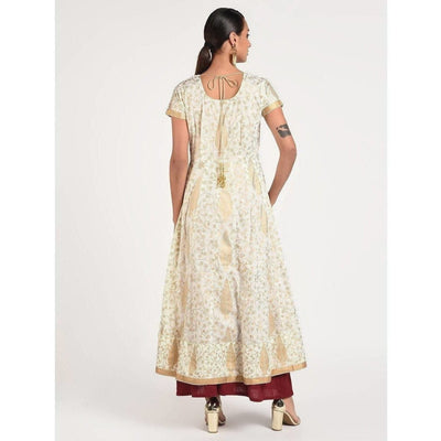 Cheera Women's Fancy Full Ghera Party Wear Anarkali Kurta (CH080K)