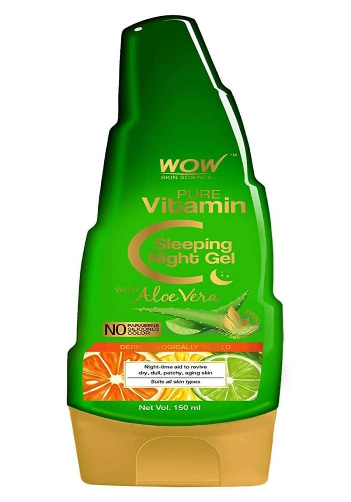 Wow Skin Science Pure Vitamin C Sleeping Night Gel
