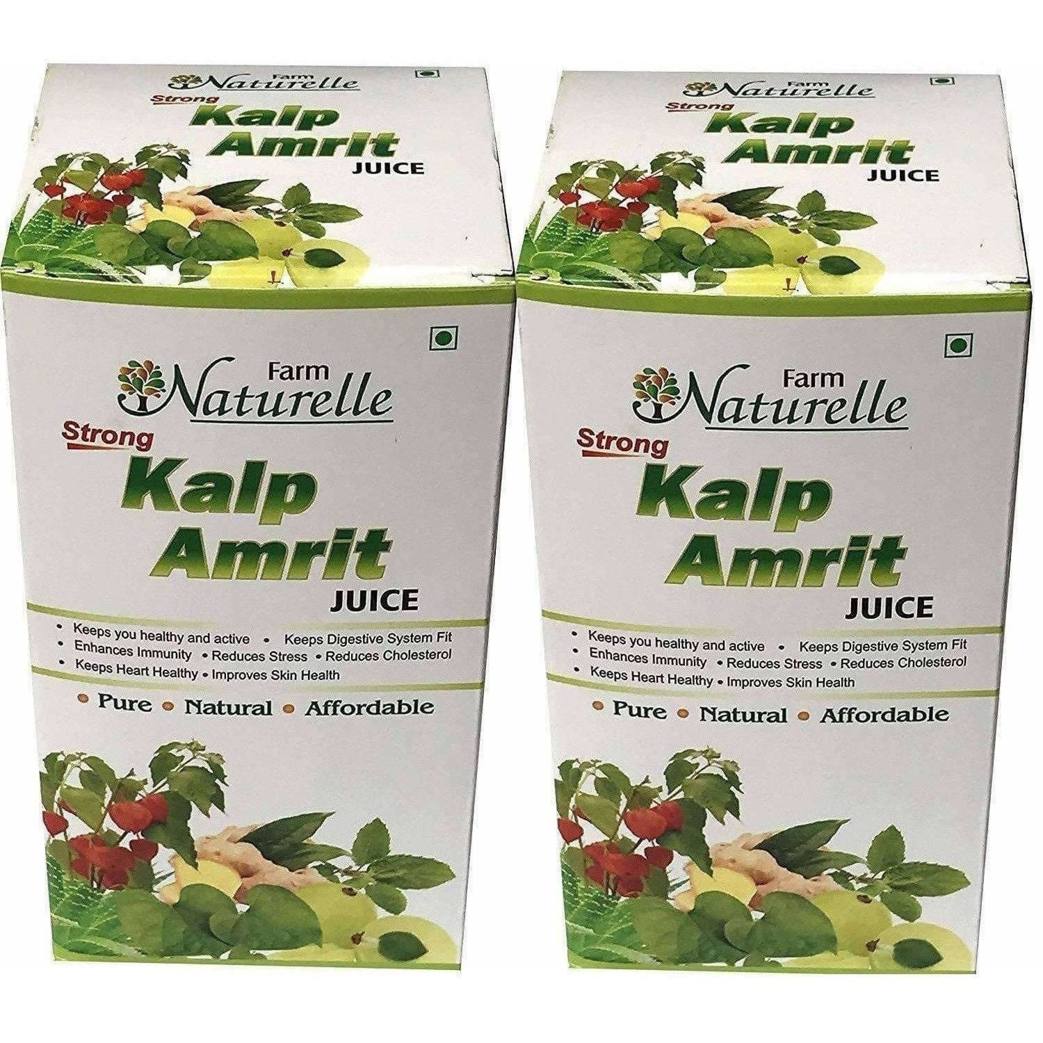 Farm Naturelle - Kalp Amrit Ras Juice Pack of 2