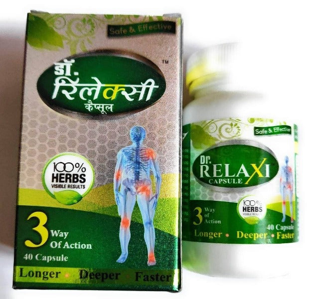 Dr Relaxi Herbal Capsules for Joints Pain and Arthritis