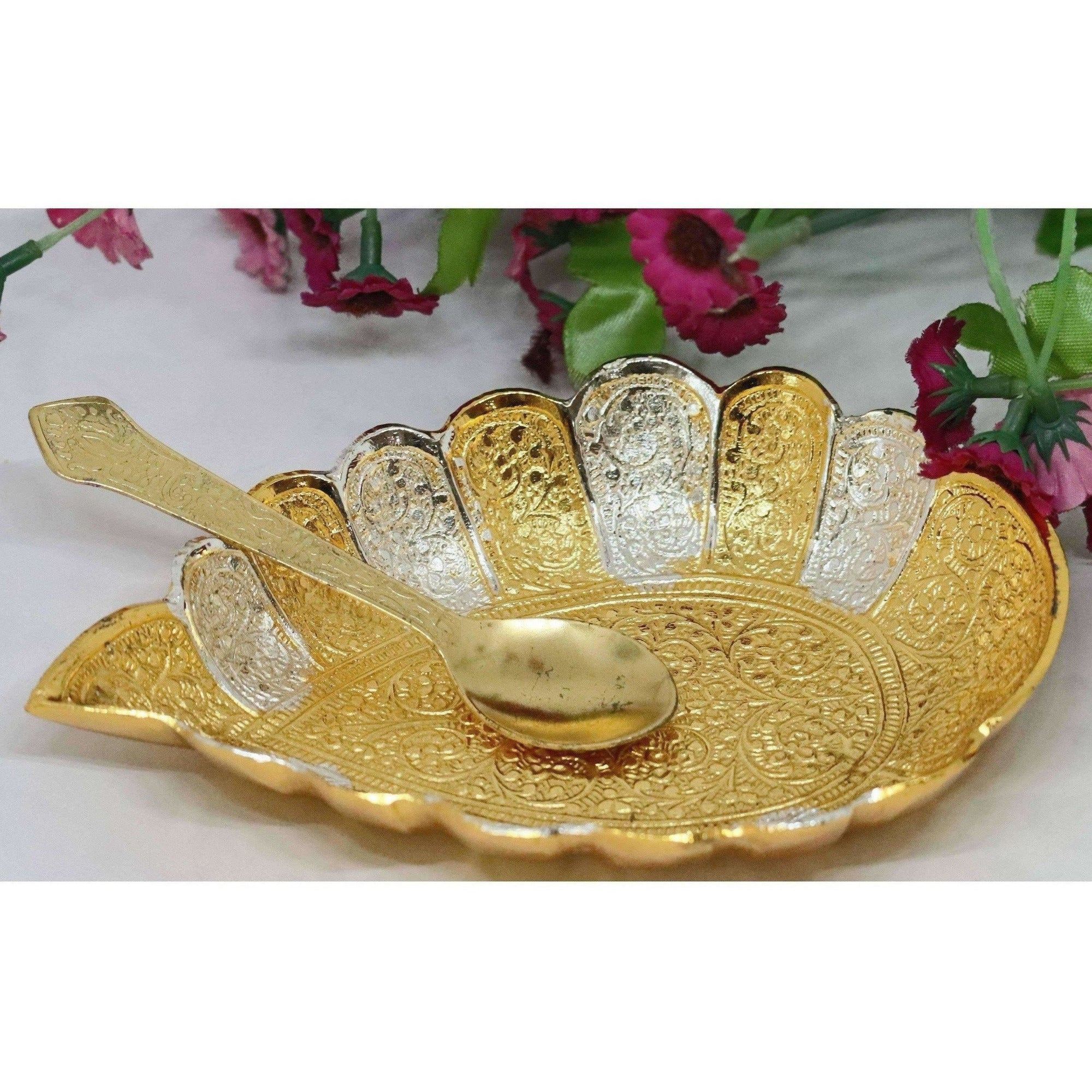 Chahat Premium Living Brass Sippi Bowl