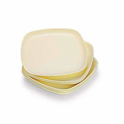 Square Half Plate Set, 6-Pieces