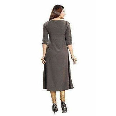 Crepe with Thread Designer Kurti - Dista Cart
