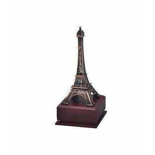 Eiffel Tower Showpiece with wooden base - Dista Cart