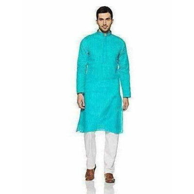 Buy Manyavar Men's Blended Kurta & Pyjama