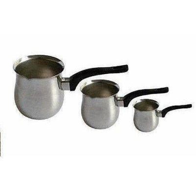 Stainless Steel Coffee Warmer - Set of  3