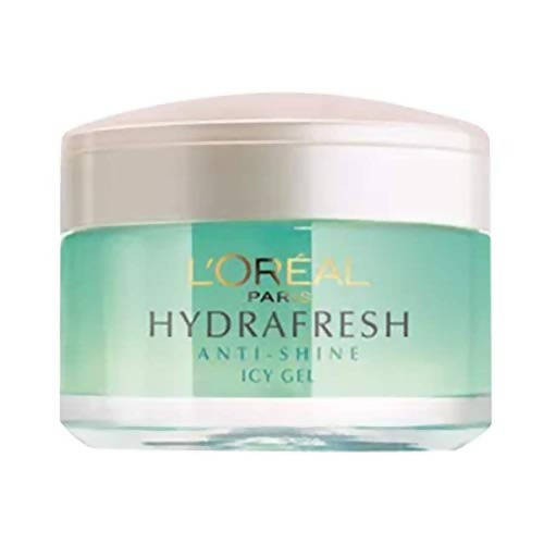 L'Oreal Paris Hydrafresh Anti-Shine Icy Gel - Distacart