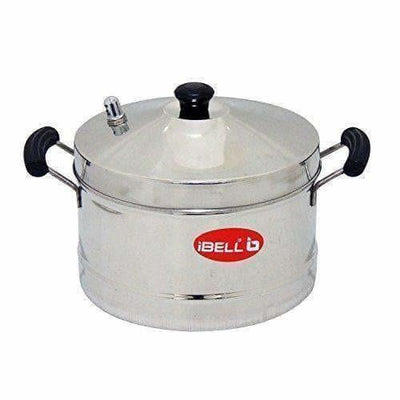 Stainless Steel Idly Cooker With 4 Idly Plates