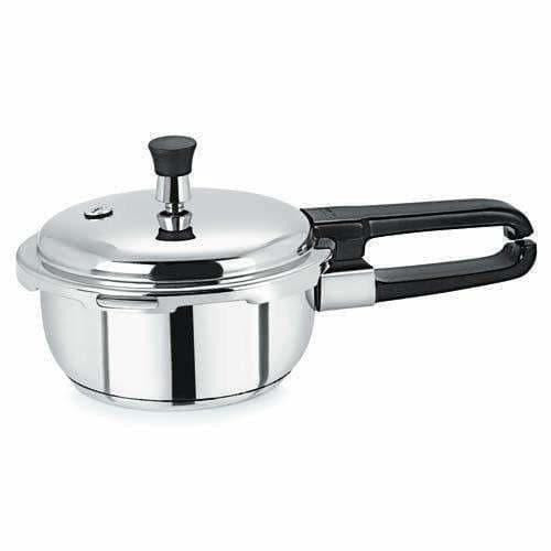 Stainless Steel Pressure Cooker - 1.5 Liters
