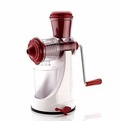 Fruit & Vegetable Manual Juicer with Steel Handle Polypropylene Hand Juicer