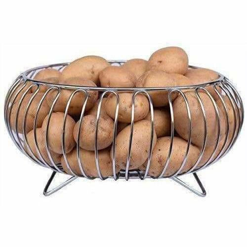 Stainless Steel Vegetable and Fruit Bowl Basket