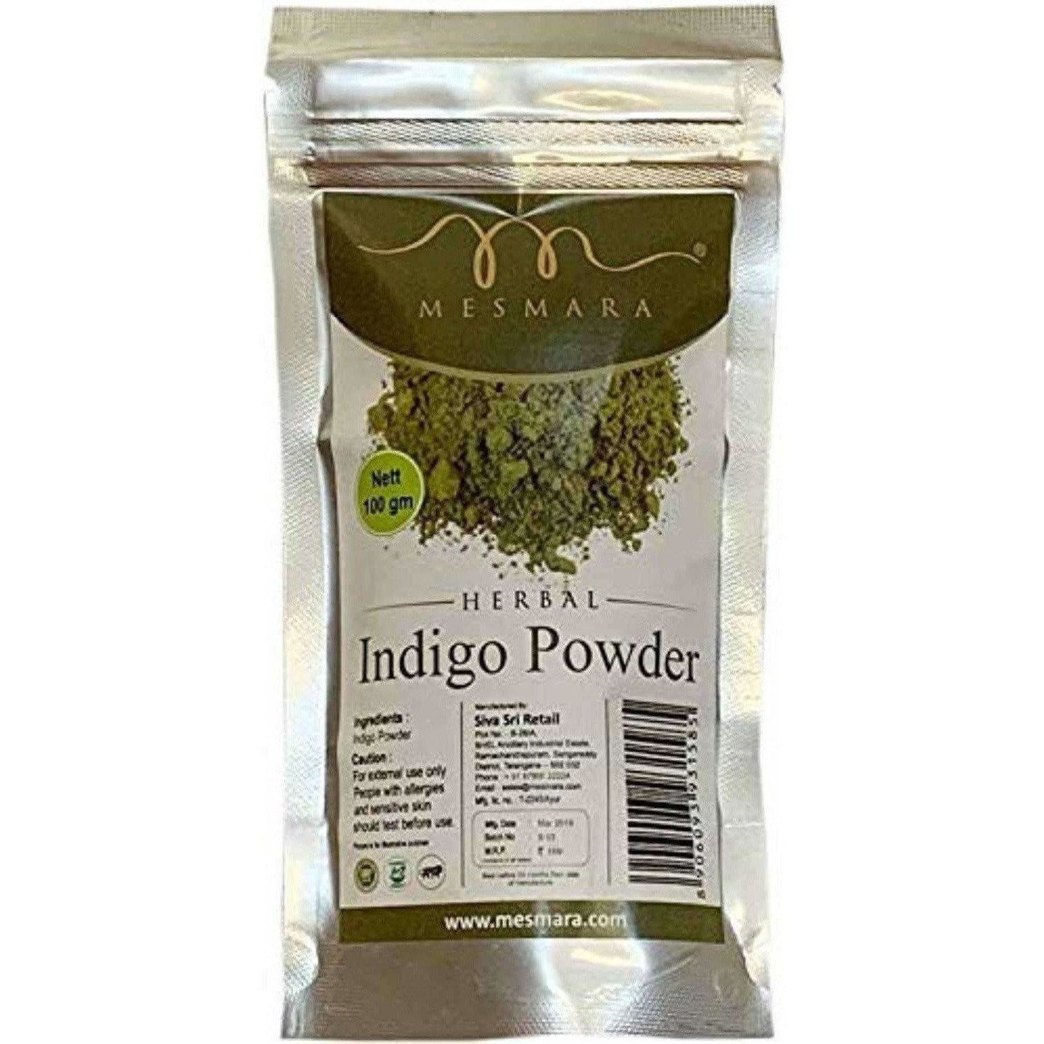 Mesmara Indigo powder 100 gm - Distacart