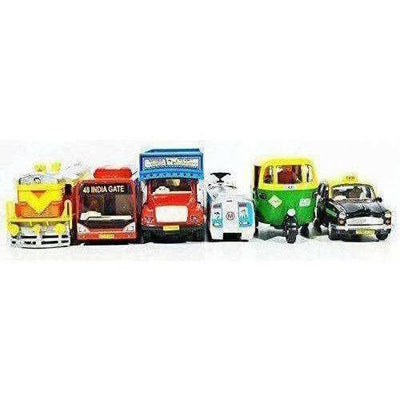 Indian Iconic Model Transport Kit - Combo Pack Of 6