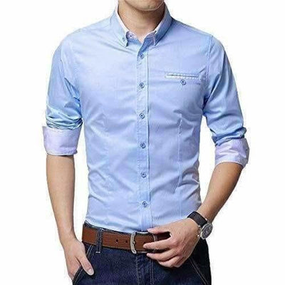 Men's Cotton Casual Shirt for Men Full Sleeves - Distacart