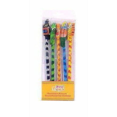 Handpainted Pencil Toys (Set of 5) - Dista Cart