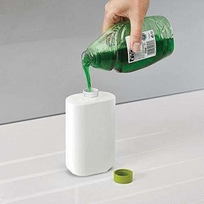 Self Sink Drainer Dishwasher Sanitize Liquid Dispenser and Sponge Holder