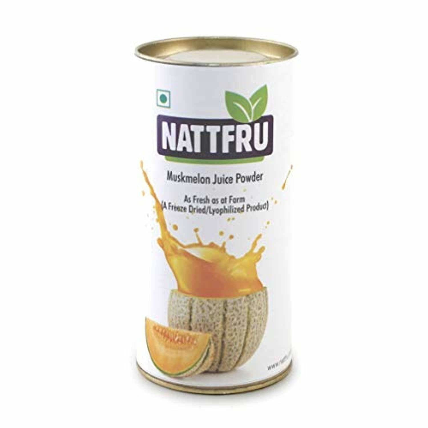 Nattfru Muskmelon Juice Powder - 90g (3 Packs X 30g  each- Inside)