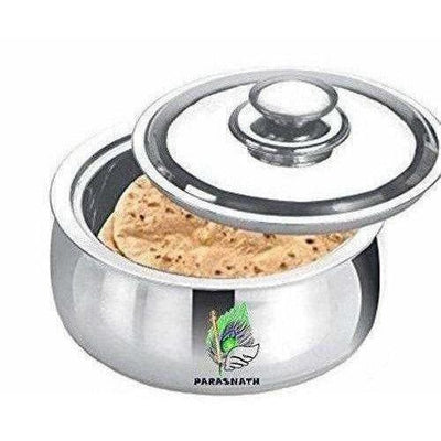 Stainless Steel Chapati Box/Casserole Set/Bread Container /Hot Pot