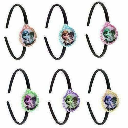Kids Party Wear Head Bands with Multi Color - Set Of 6 - Dista Cart