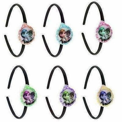 Kids Party Wear Head Bands with Multi Color - Set Of 6