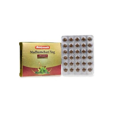 Baidyanath Madhumehari Yog With Gold 30 Tabs - Distacart