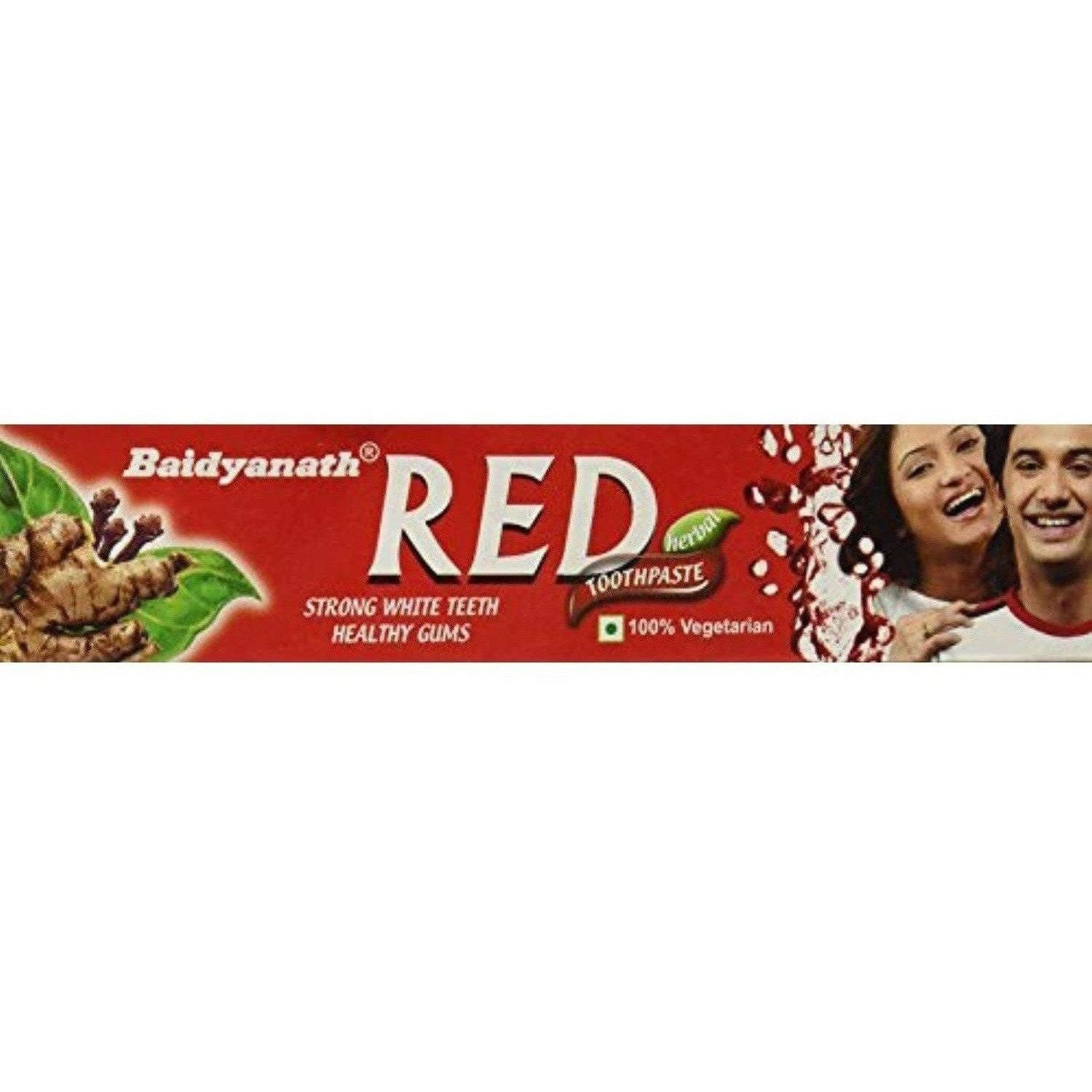 Baidyanath Red Toothpaste