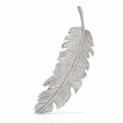 Party Wear & Stylish Metallic Leafy Hair Clip - Distacart