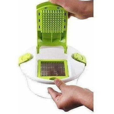 Plastic Fruit and Vegetable Cutter Set (15-Pieces) - Distacart