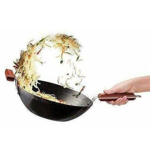 Futura Non-Stick Stir-Fry WOK 3 Litre without Lid - Dista Cart