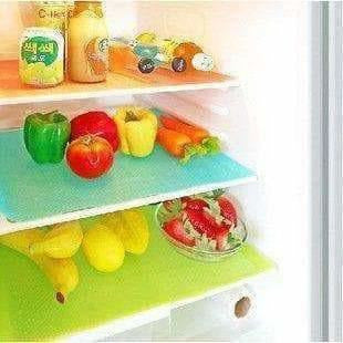 Refrigerator Drawer Mat 6 Piece Set - MultiColor