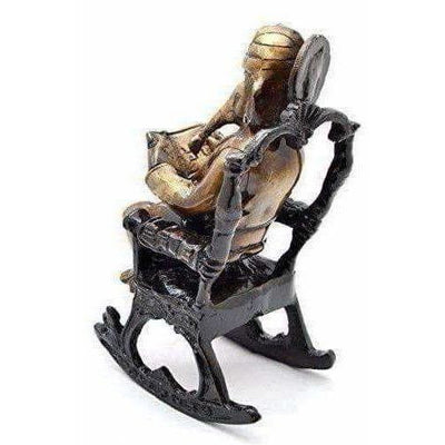 Brass - Ganesha on Rocking Chair