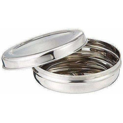 Stainless Steel Canister  Set of 3 (Silver)