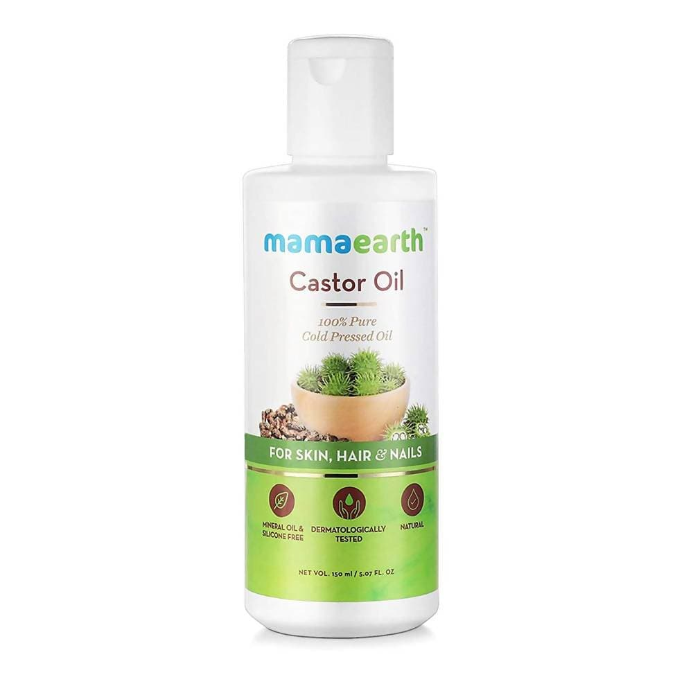 Mamaearth Castor Oil For Skin , Hair and Nails
