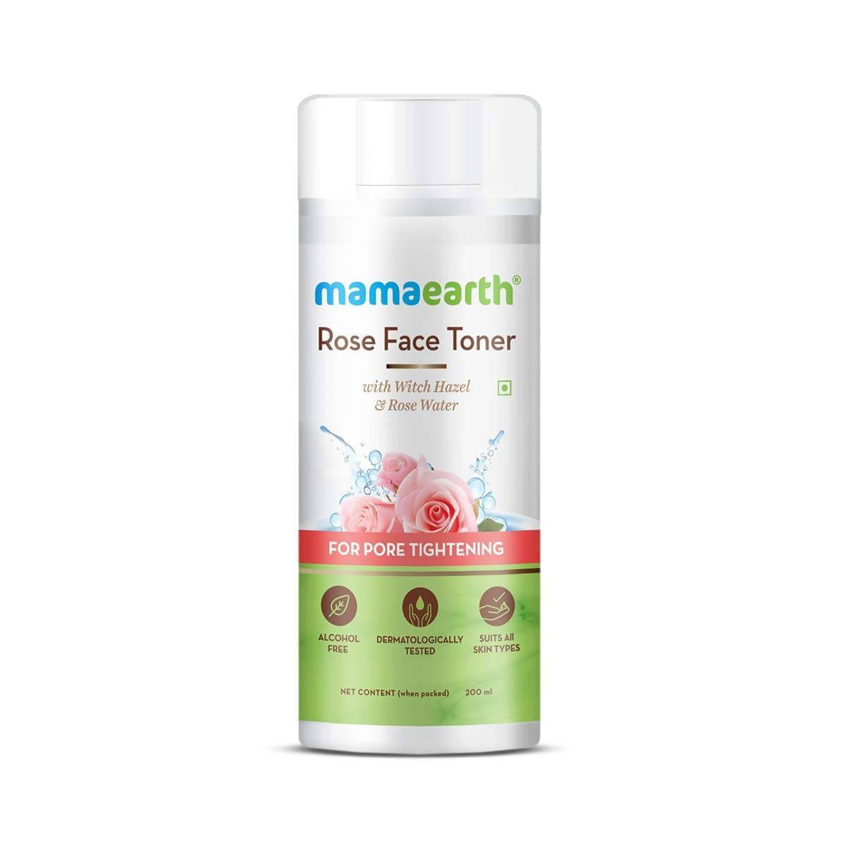 Mamaearth Rose Face Toner For Pore Tightening