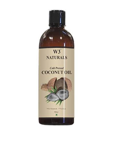 W3 Naturals Cold Pressed Coconut Oil