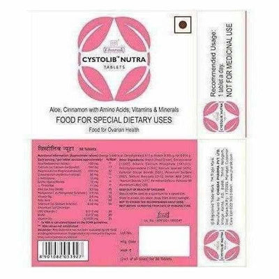 Cystolib Nutra Nutrition Supplement - 30 Tablets