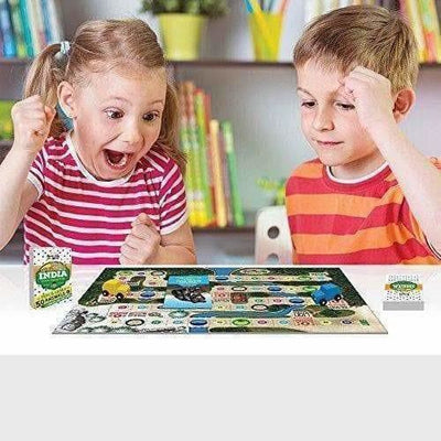 Kaadoo Animal Buddy-Indian Jungle-Board Game